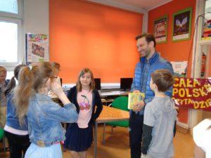 Cała Polska czyta dzieciom, czyli spotkanie z Panem Marcinem Stecem