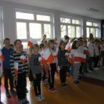 Uroczysty apel klas 1- 3 z okazji 100 rocznicy odzyskania przez Polskę niepodległości
