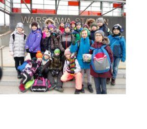 Wyjście na lodowisko na Stadion Narodowy