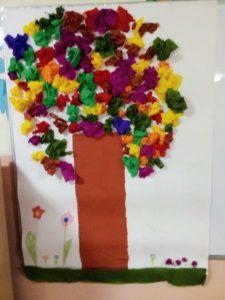 Jesienne drzewo 1d